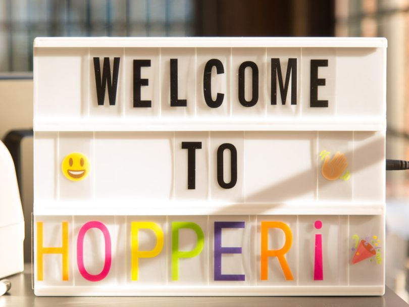 With machine learning and AI at the helm, Hopper is flying