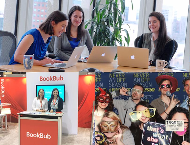 bookbub ecommerce boston company
